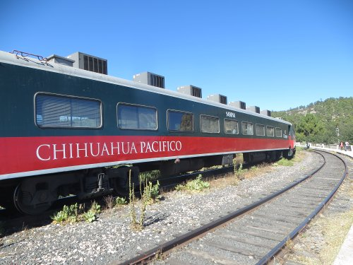 Chihuahua-Pacific Train
