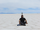 15 - Playing in the Uyuni Salt Lake