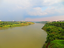 1 - Parana River at the Brazil-Paraguay Border