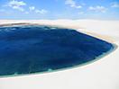 37 - Dunes and Water, Parque Nacional Lençois Marenheses