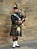 27 - Scottish Man in a Kilt Playing the Bag Pipes, Edinburgh