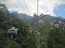 1 - Gondola in Huangshan Mountains