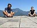 33 - Resting on the Great Wall of China, Jiankou