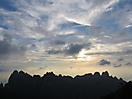 5 - Clouds at Sunset in the Huangshan Mountains