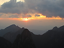 6 - Sunrise at the Huangshan Mountains