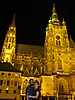 2 - St Vitus Cathedral at Night in Prague Castle