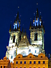 4 - Tyn Church at Night, Prague