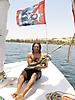 13 - Sal 'Guevara' on a Felucca in the Nile