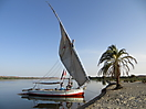 15 - Our Felucca on the Nile River