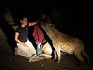 12 - Gisela Feeding Hyenas, Harar