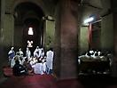 18 - Ethiopian Orthodox Christians at Bet Medhane Rock-Hewn Church, Lalilbela