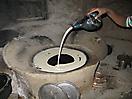 21 - Making Injera, Lalibela