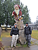 8 - Only Picture We Could Afford With Santa, Rovaniemi