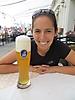 7 - Enjoying Wheat Beer at the Hofbrauhaus Beer Garden, Munich