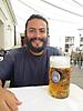 8 - Enjoying 1 Liter of Beer at the Hofbrauhaus Beer Garden, Munich
