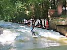 9 - Surfers Riding a River Wave at the Englischer Garten, Munich