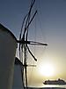 13 - Mykonos Windmill at Sunset