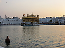 16 - Bathing at the Golden Temple, Amritsar