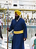 18 - Sikh Guard at the Golden Temple, Amritsar