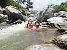 23 - Swimming in the Binsar River, Mangalatha