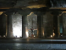 32 - Columns, Ajanta Caves