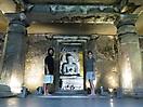 33 - Hand Carved Buddha, Ajanta Caves
