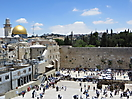 4 - View of Western Wall and Dome of the Rock, Jerusalem
