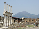 3 - Pompeii with Mt Vesuvius