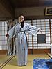 28 - Japanese Robe, Tsumago