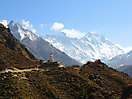 25 - View of the Himalayan Mountains, Everest Base Camp Trek