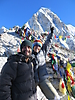 33 - Made it to Kala Patthar Summit - 5550m, 18,209ft - Everest Base Camp Trek