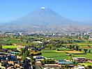 3 - El Misti Volcano from Mirador de Sachaca, Arequipa