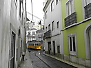 15 - Tram in the Neighborhood of Alfama, Lisbon