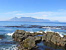 5 - Table Mountain from Robben Island, Cape Town