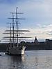 6 - Ship in Stockholm's Bay