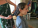 16 - Gisela First Time Cutting Her Hair