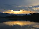 13 - Sunset at Lake Bunyonyi