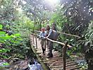 1 - Crossing a Bridge, Bwindi Impenetrable National Park