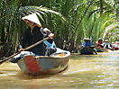 3 - Boats in the Mekong Delta