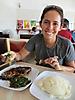 3 - Enjoying Local Food - Nshima and Fried Fish, Lusaka