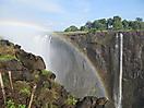 14 - Rainbow at Victoria Falls